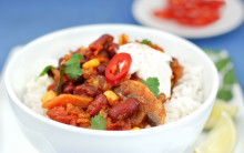 Chilli from ready-mades