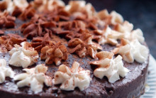 Chocolate & Brandy Truffle Torte