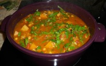 North African Squash & Bean Stew