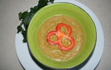 Pumpkin, Ginger & Coconut Soup