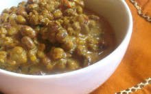 Joanne's Aduki Bean & Coconut Curry