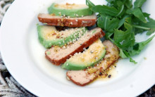 Avocado & Smoked Tofu Salad with Mustard Vinaigrette