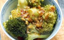 Broccoli in Garlic & Soya Sauce