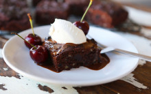 Cherry & Almond Chocolate Brownies