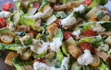 Chickless Caesar Salad