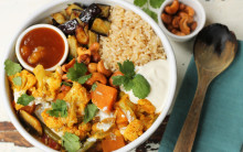 Cauliflower, Vegetable & Chickpea Korma