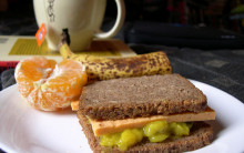 Vegan Cheese & Pickle Sandwiches