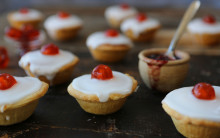Vegan Cherry Bakewells