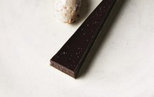 Chocolate Salted Caramel Tart (with peanut butter sorbet)