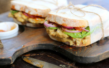 Coronation 'Chicken' Sandwich