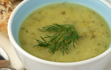 Courgette & Dill Soup