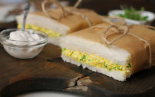Tofu Egg Mayonnaise Sandwiches