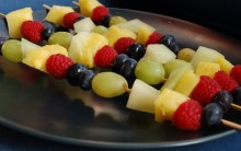Frozen Fruit Kebabs