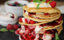 Vegan Pancakes - Sweet or Savoury