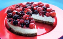 Fruity Dairy-free Cheesecake