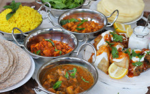 Indian Dinner, Convenience-style
