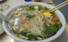 Pho Indonesian Vegetable & Noodle Soup