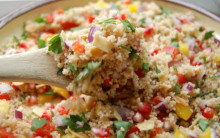Justine's Christmas Cous-Cous salad