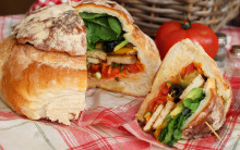 Muffaletta Stuffed Loaf