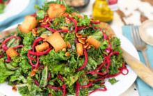 5 Minute Kale Salad
