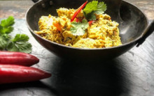 Butternut Squash and Tofu Rendang Curry