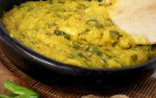 Mung Dahl with Spinach