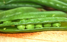 Easy fresh peas