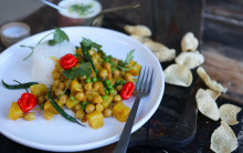 Chickpea & Pineapple Curry