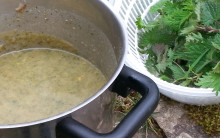 Potato & Nettle Soup