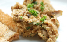 Quick Mushroom and Almond Nutmeat