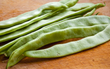 Steamed Runner Beans