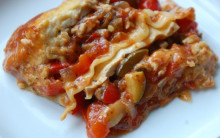 Soft Vegetable Lasagne with Tofu