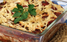 Spinach and Walnut Lasagne