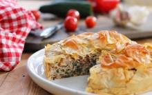 Vegan Spinach & Walnut 'Ricotta' Pie