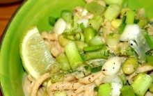 Street Noodle Salad with Peanut or Sesame Sauce