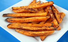 Sweet Potato Wedges with Options