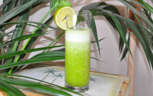 Anneka's Little Green Pineapple Smoothie