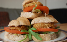 Tofu Burgers for Caterers