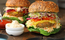 Easy Home-made Tofu Burgers