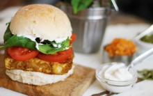 Quick & Easy Fried Tofu Egg Butty