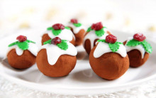 Christmas Brandy Truffles