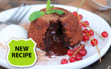 Simple Vegan Chocolate Fondants