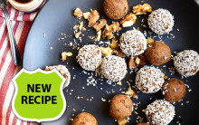Coffee & Walnut Cake Energy Balls