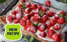 Easy Strawberry Galette