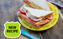 'Ham', Cheese & Salad Sandwich