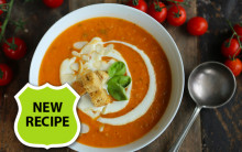 Simple Roast Tomato Soup