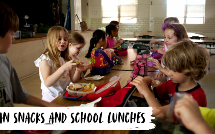 Vegan Snacks and School Lunches