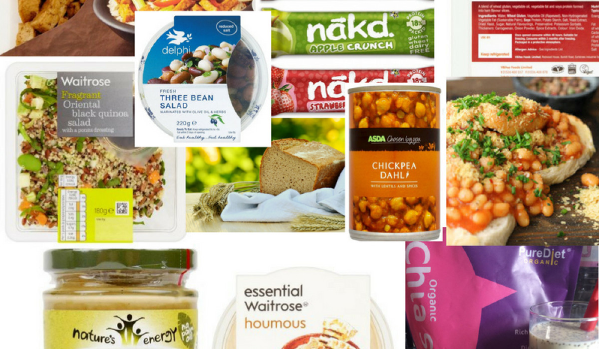 Out & About Vegan: Convenience Protein Foods