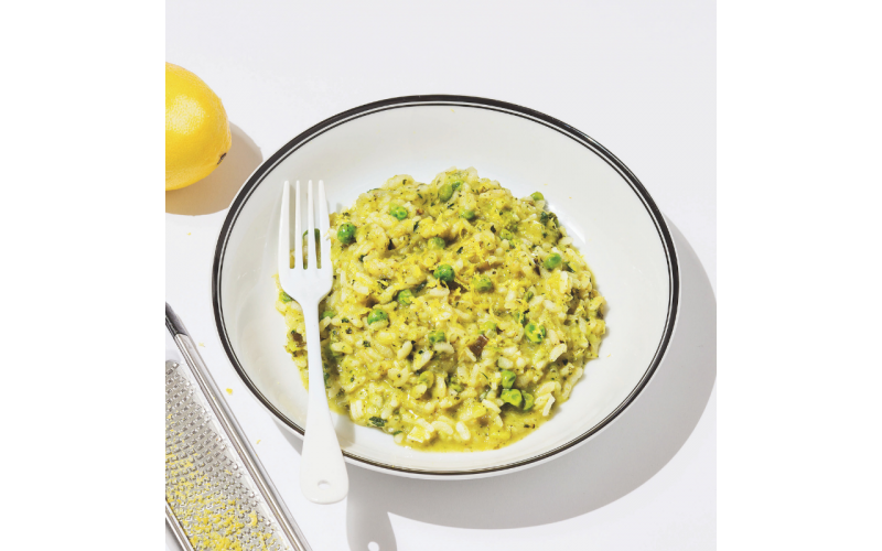 Broccoli, Lemon & Mint Risotto