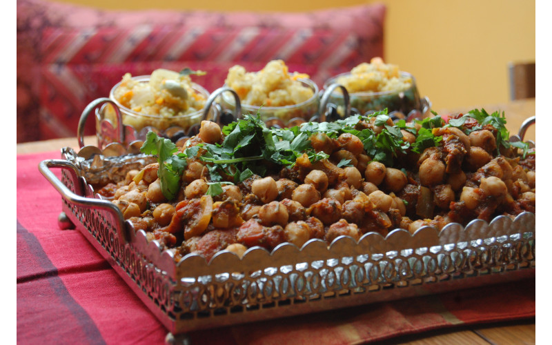 Moroccan Chickpea Stew for Caterers